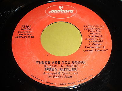Jerry Butler  Where Are You Doing   You Can Fly 45   Soul