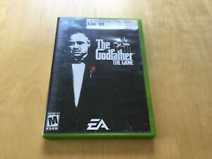 The Godfather the game /good condition Xbox game /used sparingly