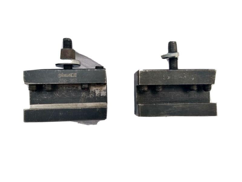 Phase II 250-302 & 250-301 CXA Size Quick Change Tool Holder. Lot of 2.