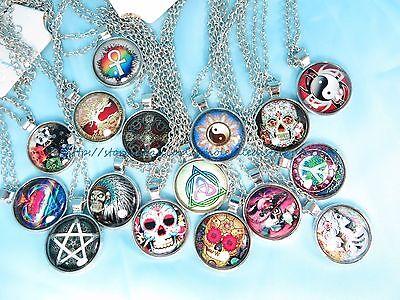 US SELLER - 15 fashion necklaces boho retro wholesale jewelry lot