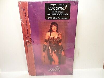 XENA Warrior Princess Journal Antioch + Bookmark - 160 Ruled Pages 1997 Vtg Book