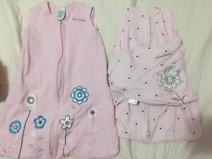 Sleeping bags -newborn & 0-6mth, both for $5