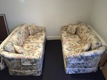 2 x two and a half seater Moran sofas Black Rock Bayside Area Preview