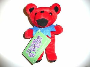 GRATEFUL-DEAD-BEAN-bag-bear-BERTHA-7-inch-tall-bear-new-with-new-tags-Series-1