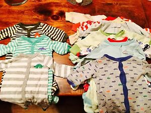 Lot of Baby Boy Items 0-3 Months - OVER 70 ITEMS