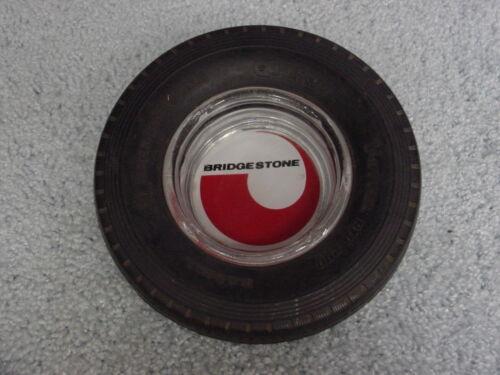 BRIDGESTONE V-STEEL RIB 290  11R - 24.5 TRUCK TIRE GLASS INSERT ASHTRAY