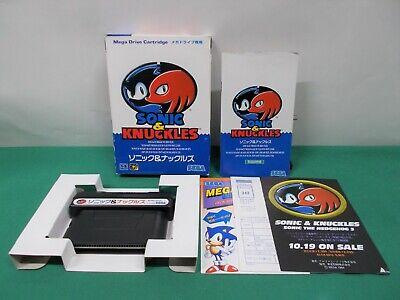 Mega-Drive Genesis -- Sonic & Knuckles -- Boxed. Japan. Action Game. SEGA. 14486