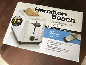 Hamilton Beach Stainless Steel Toaster