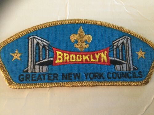 Greater New York Brooklyn Council CSP SA-10 Gold Mylar Border SALE!!
