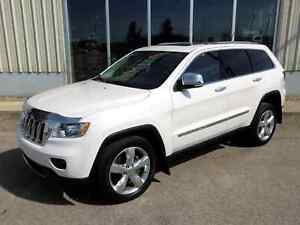 2012 Jeep Grand Cherokee Overland 4x4 - Fully Loaded