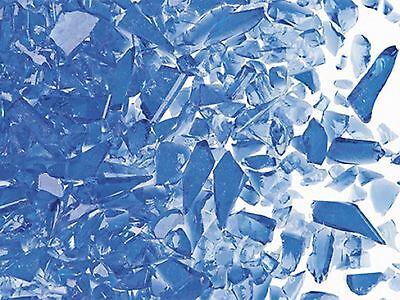 Uroboros COE96 UF5011 Light Blue Transp Coarse Glass Frit 8.5 oz Full Jar