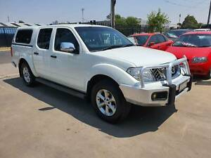 2011 Nissan Navara ST-X Duel Cab Ute 4X4 TURBO DIESEL LOW KMS Williamstown North Hobsons Bay Area Preview