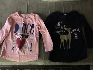 Gymboree shirts girls size 4, never been wotn