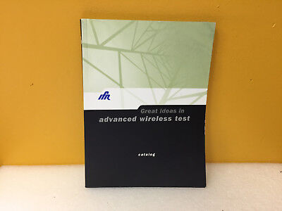 Ifr Advancing Wireless Test Product Catalog