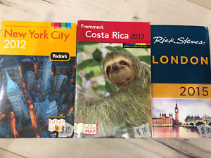 Travel Guides- New York, Costa Rica, & London