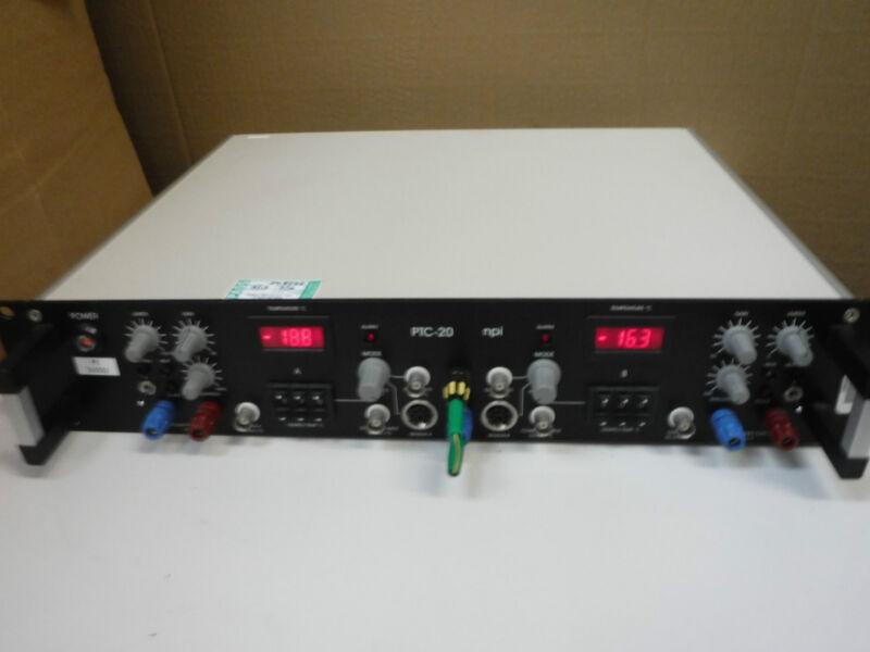 NPI Electronic PTC-20 Two Channel Peltier Controller