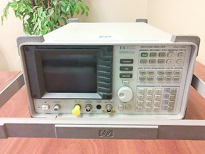 Hp 8590a Spectrum Analyzer 10 Khz-1.5 Ghz Only 1450 Excellent Condition