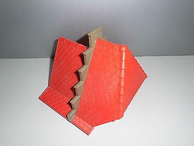 Playmobil Ritterburg Königsritterburg 3268 Ersatzteil großer Dach Giebel in rot