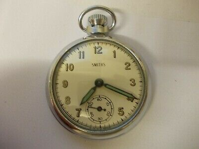 smiths pocket watch.made in great britain.dated to 1962