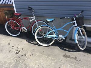 Duo bicyclette adulte cruiser