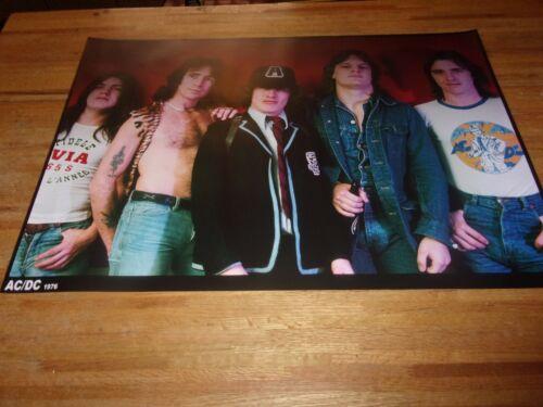 AC/DC  ( Bon Scott Powerage Era ) Poster