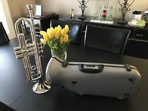 Yamaha silver trumpet YTR3335