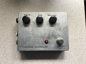 "Fairfield Circuitry ""Barbershop"" overdrive pedal"