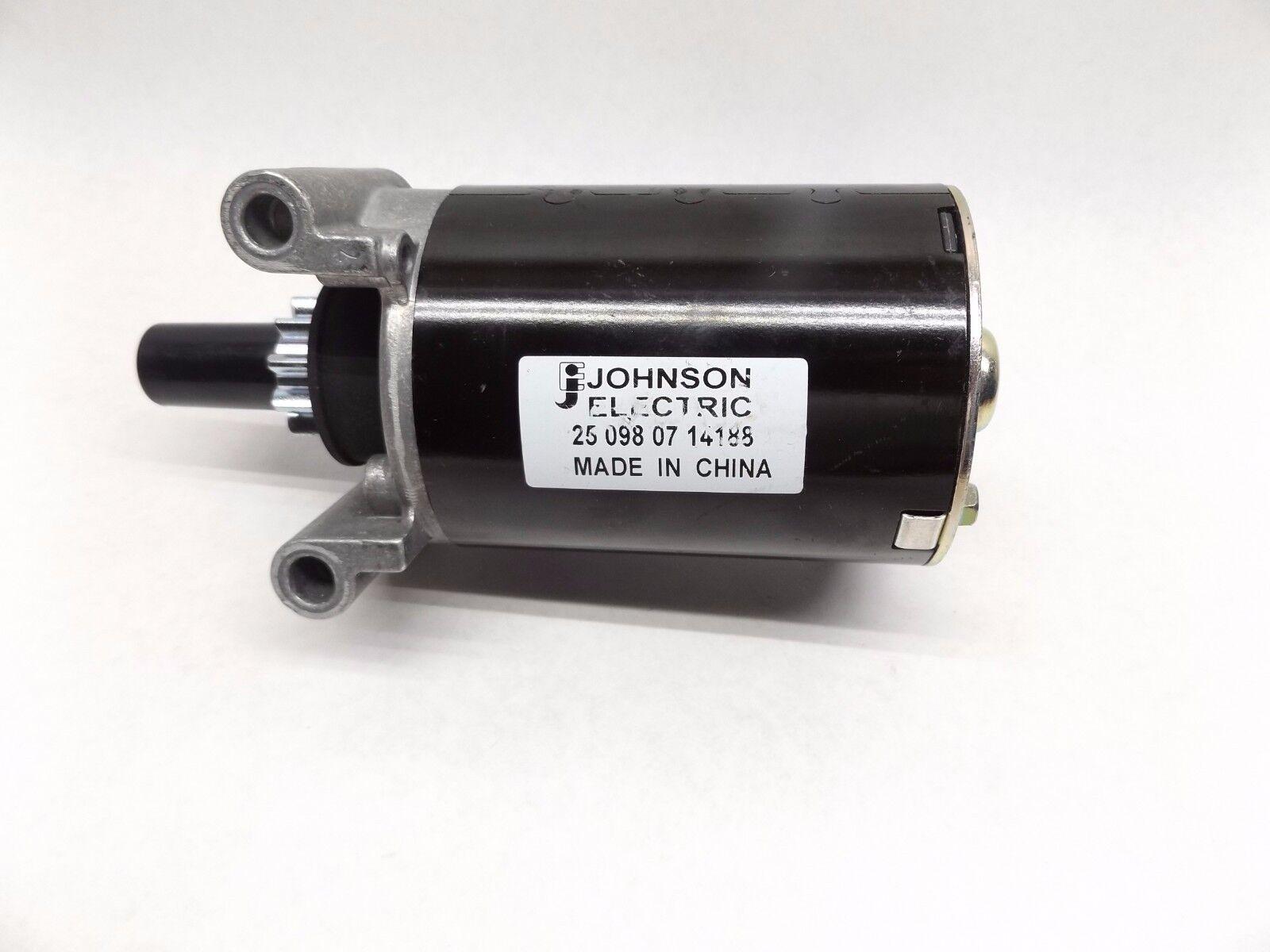 JOHNSON ELECTRIC 25 098 07 14188 STARTER MOTOR OLD STOCK