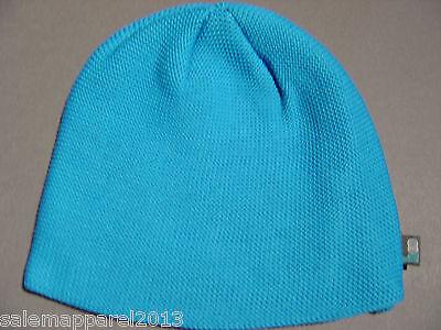 ABERCROMBIE & FITCH HOLLISTER BLUE BEANIE SKI HAT SKULL CAP # 4