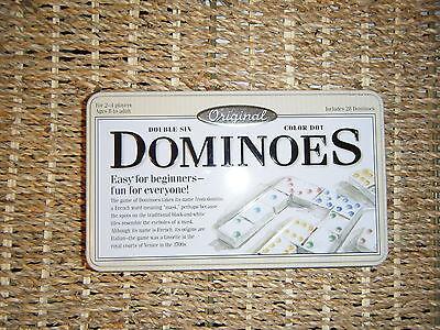 DOUBLE SIX 28 DOMINOES