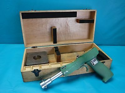 Used Federal Bore Gage Pistol Grip 1243p-2 1-14 To 2-34 With Wooden Case