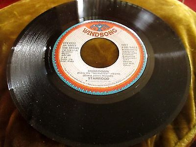 Starwood Showdown Same 45 Rpm 1975 Windsong Records Ex Radio Promo