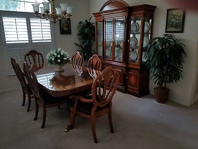 dining room set with Cabinet
