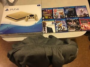 Ps4 Gold 1tb Almost Brand New + 8 games !!!!