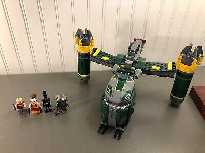 LEGO Star Wars Bounty Hunter Assault Gunship #7930 100% Complete