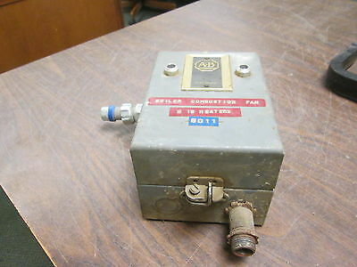 Allen-bradley Enclosed Size 00 Starter 709tad 120v Coil Used