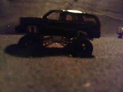 2005 Jada Toys Dub City HIGH PROFILE Cadillac ESCALADE black used loose no box