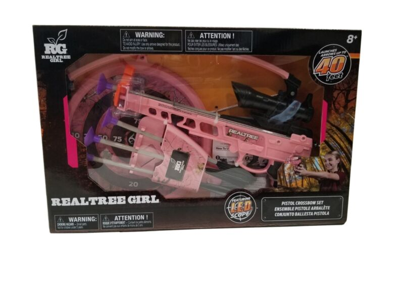RealTree Girl Pistol Crossbow Set up to 40ft launch