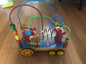 Mastermind Toddler Cart With Moveable Beads