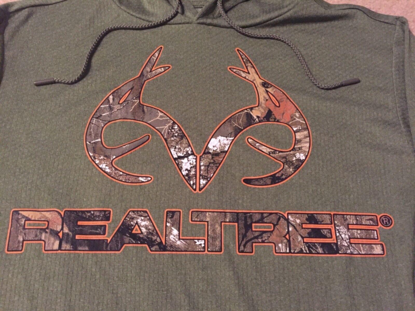 REALTREE XTRA Camo BUCK deer HUNTER Hunting MEN/'S New Jacket Hoodie Sweat SHIRT