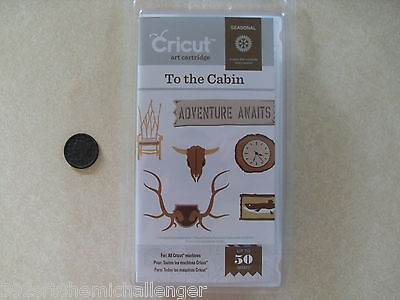 Cricut Cartridge To the Cabin 2001436 New Sealed Fast Free Ship