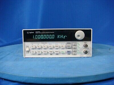 Agilent 33120a 15 Mhz Arbitrary Waveform Generator