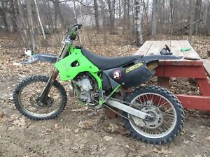 Fully rebuilt kx250