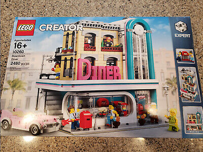LEGO 10260 Creator Expert Downtown Diner NEW & Sealed