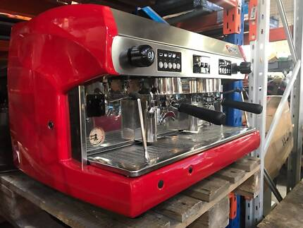 WEGA POLARIS 2 GROUP ESPRESSO COFFEE MACHINE - RED