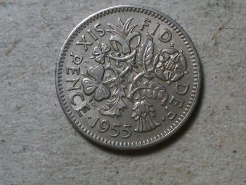 Great Britain 6 pence sixpence 1954 1955 1956 1957 1958 1959 1961.. Wedding gift