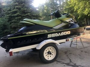 2005 Sea-Doo RXP 215 Supercharged + Trailer