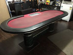 Huge used 95inch/2400mm Poker Table Enfield Burwood Area Preview