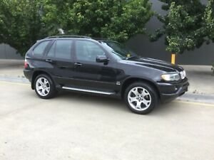 BMW X5 Great Looking Prestige Car in Black Derwent Park Glenorchy Area Preview