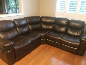 Brand new five piece power reclining sectional sofa couch